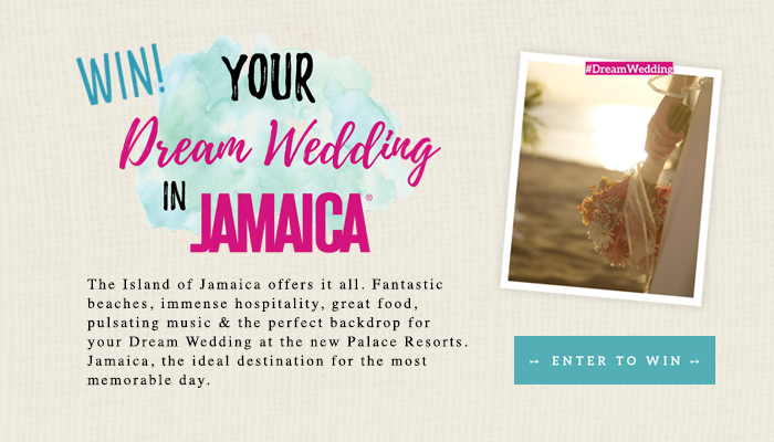 Winner of Dream Wedding in Jamaica