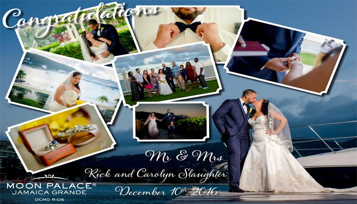 Winner of Dream Wedding in Jamaica in Pictures