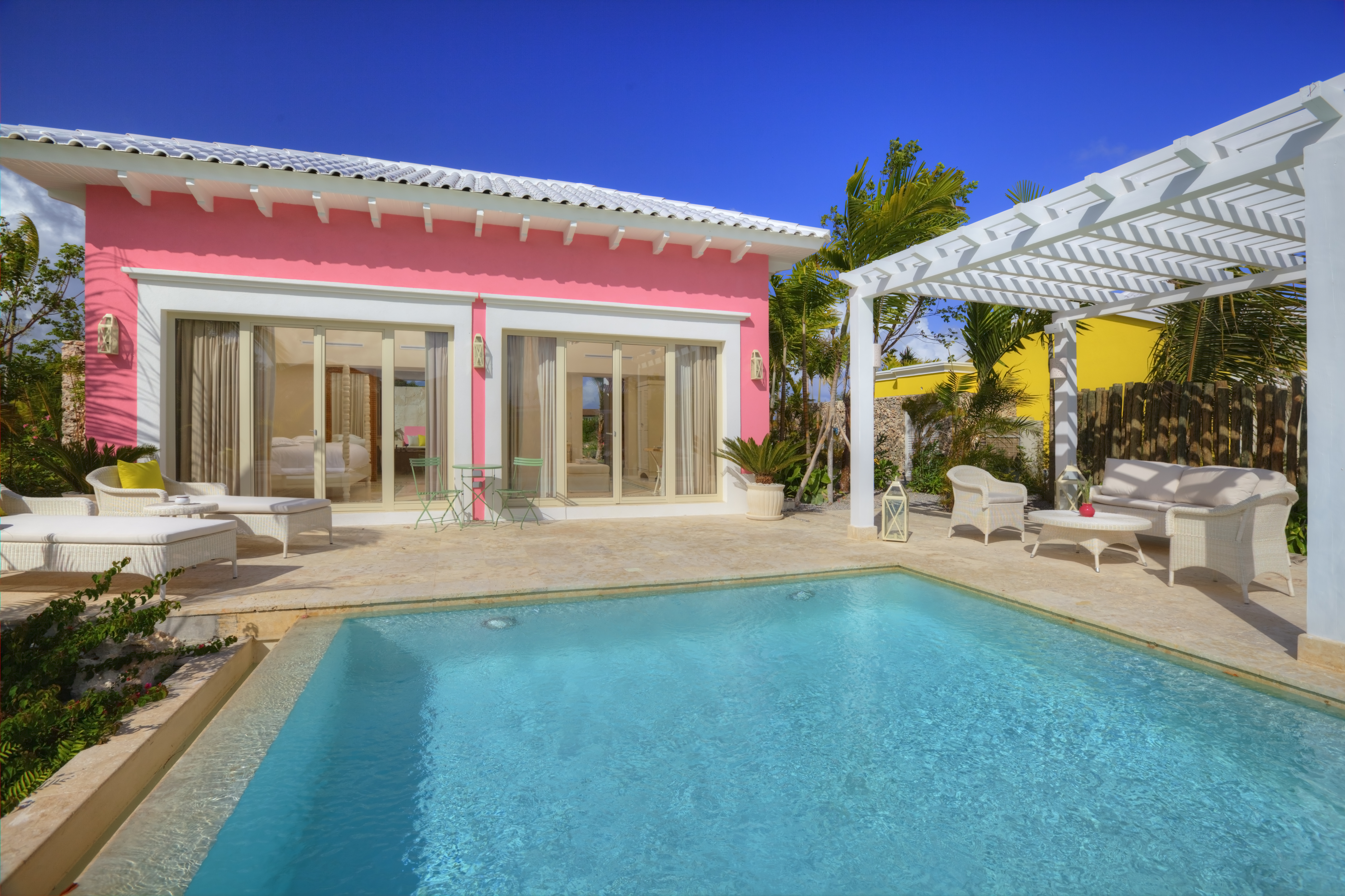 Eden Roc Cap Cana Pool Junior Suite Private Swimming Pool. Photo Credit Cap Cana