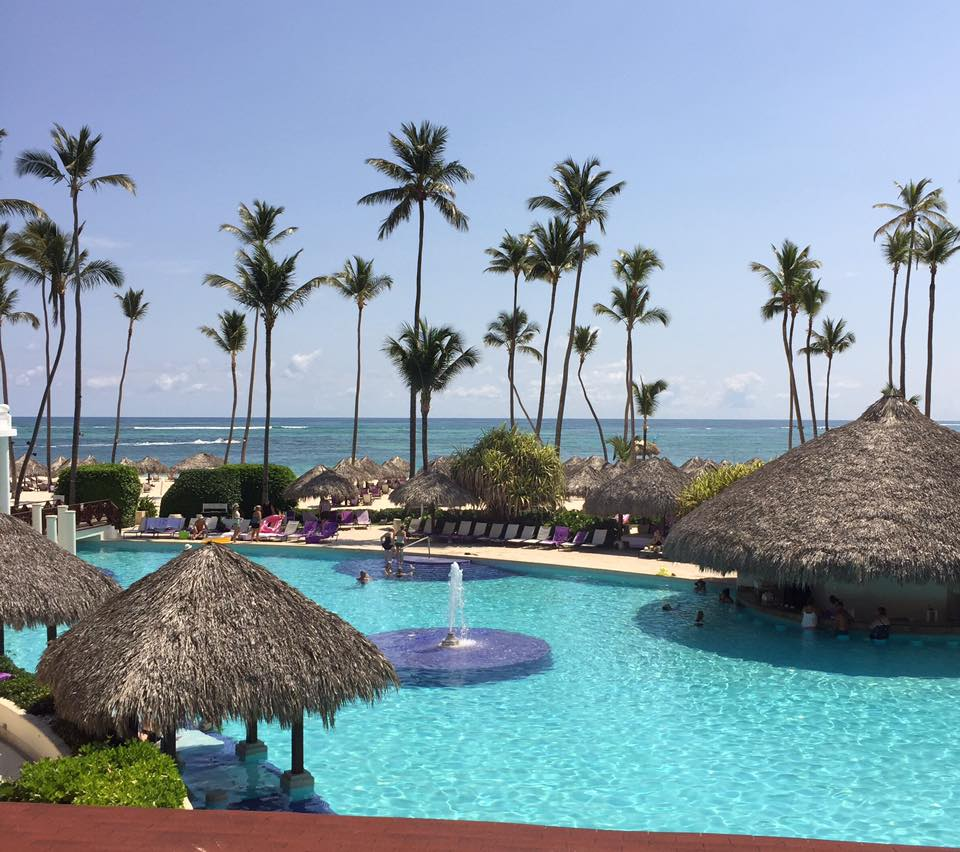 Paradisus Palma Real Pool. Photo Credit Melanie Reffes