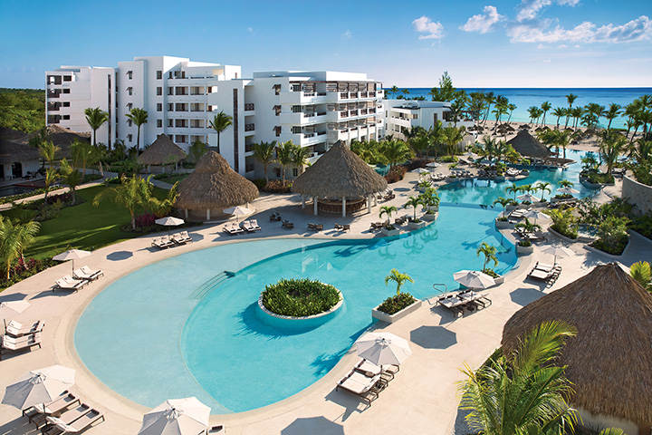 Secrets Resort Cap Cana Main pool. Photo Credit AM Resorts