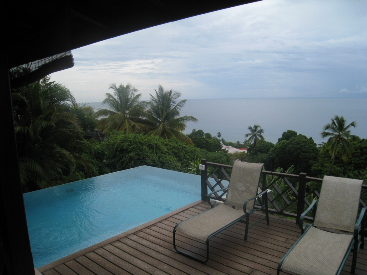 August 10, 2012 - Tobago - Villas at Stonehaven - pool