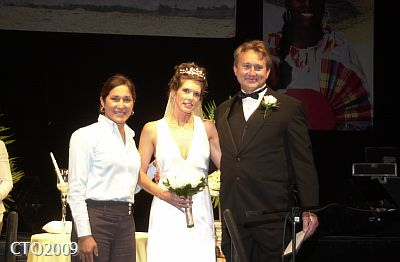 Lisa Brian Lourdes MC wedding