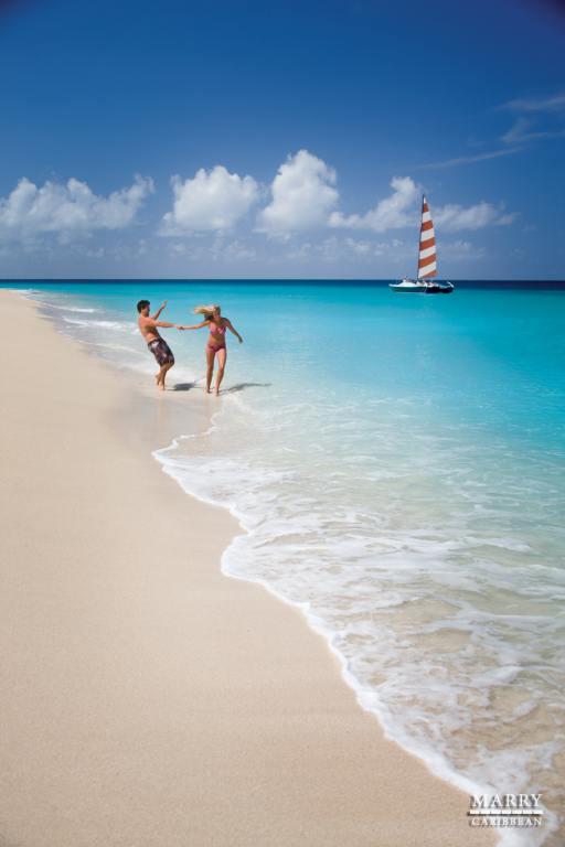 usvi couple on beach